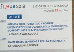"""Limatola / Frasso Telesino. L'Istituto Comprensivo a Città della Scienza a Napoli per i """"Tre Giorni per la Scuola – HUB 2019""""."""