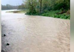 Faicchio / Cusano Mutri. Ondata di maltempo: straripa il torrente in contrada Marafi ed il fiume Titerno.