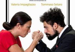 """CAIAZZO. """"Atti unici per lui e per lei"""": domenica 12 gennaio appuntamento con Valeria Impagliazzo e Tommaso Setaro al Teatro Jovinelli."""