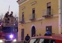 FRANCOLISE / CARINOLA. Incendio in una casa di riposo: morte due donne, una 79enne ed una 56enne.