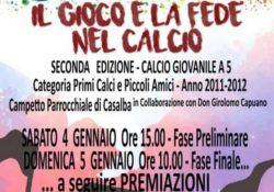 """Caserta / Provincia. Futurart, soccer Macerata Campania e parrocchia S. Maria delle Grazie insieme per il """"Gioco e la fede nel calcio""""."""