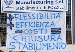 Pozzilli. Unilever: domenica Santa Messa allo stabilimento in solidarietà ad operai e lavoratori.