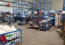 VITULAZIO. Sequestrata azienda tessile da 1000 mq totalmente abusiva, una di lavorazione marmi, due segherie.