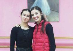 Montesarchio. La giovane caudina Lorenza Compare incontra Claudia D'Antonio, prima ballerina del Teatro San Carlo di Napoli.