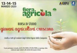 """Caserta / Provincia. """"Giovani Agricoltori Crescono"""", a Fiera Agricola una Borsa di Studio ed uno spazio espositivo gratuito per gli Istituti Agrari della Campania."""