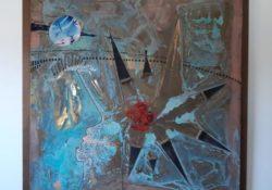 Telese Terme. Le opere di Vallone a Dubai: l'artista parteciperà all'Emirates Art Festival.