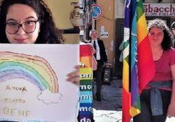 """ALIFE. #iorestoacasa. Il Video-messaggio di Benedetta, alunna della Secondaria dell'Istituto Comprensivo: """"Con la Pace andrà tutto bene""""."""