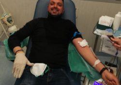 Capua. Covid-19, l'equipe di assistenza domiciliare di Villa Fiorita dona sangue al centro trasfusionale di Aversa.