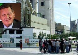 Sesto Campano / Gubbio. L'ultimo abbraccio al Presidente Colacem, Giovanni Colaiacovo: scompare a 85 anni il fondatore di un gruppo attivo nel settore del cemento in Italia e nel mondo.