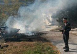 Isernia / Provincia. Incendio colposo di un'area di 400 mq: beccato pensionato 60enne.