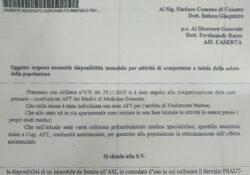 """CAIAZZO. Servizio 118 e guardia medica a rischio trasferimento, """"Caiazzo Bene Comune"""" svela al lettera rimasta per mesi nel cassetto e denuncia i ritardi del Comune."""
