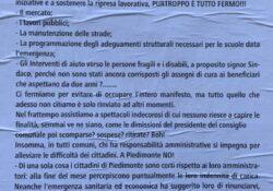 """PIEDIMONTE MATESE. """"L'Italia riparte e a Piedimonte? Tutto è fermo"""": la nota del locale circolo Pd."""