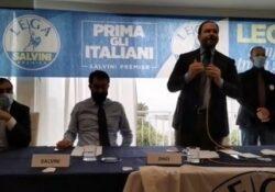 """Caserta / Provincia. """"Se avessimo voluto accogliere tutti in Campania oggi saremo allo stadio San Paolo"""": ovazioni per Salvini….VIDEO."""