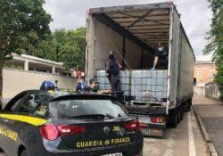 Caserta / Provincia. 24 tonnellate pari a circa 28.000 litri di gasolio di contrabbando sequestrato dalla Finanza.