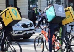 """Caserta / Provincia. Oltre mille """"riders"""" delle """"piattaforme virtuali"""" del """"food delivery"""" interpellati per le indagini sul rapporto di lavoro."""