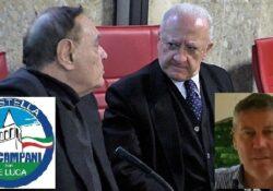 """PIEDIMONTE MATESE / BELLONA / Verso le Regionali 2020. Gianluigi Santillo (ri)affianca Mastella e corre con De Luca: pronta la lista """"Noi campani""""."""