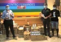 Caserta / Provincia. La Guardia di Finanza dona al Centro Fernandes oltre 5.000 prodotti sequestrati per etichettatura non conforme.