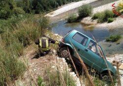 Monteroduni. Automobilista probabilmente per un malore finisce con l'auto nel fiume Volturno: soccorso dai Vigli del Fuoco.