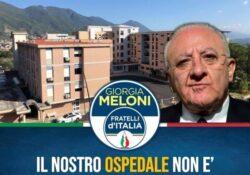"""PIEDIMONTE MATESE. """"Ora basta, il nostro ospedale non è merce da campagna elettorale"""": la nota del Circolo cittadino di Fratelli d'Italia."""