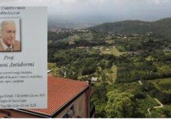 GALLO MATESE. In ricordo del prof. Giovanni Antidormi nato a Gallo Matese.