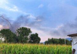 ALIFE. Prende fuoco la discarica in località Jungere: sul posto diverse squadre di vigili del fuoco.