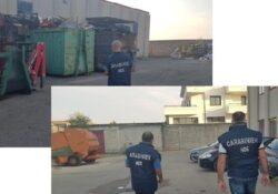 """Caserta / Provincia. Operazione """"DIRTY IRON"""" per traffico illecito di rifiuti: otto misure cautelari eseguite dai carabinieri del N.O.E."""