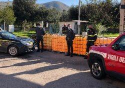 Caserta / Provincia. La Guardia di Finanza devolve ai Vigili del Fuoco 30mila litri di gasolio di contrabbando confiscati.