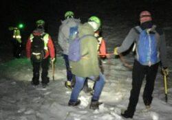 Monte Miletto / Bojano. Nebbia e ghiaccio, due studenti universitari bloccati sulla montagna: interviene il Soccorso alpino.