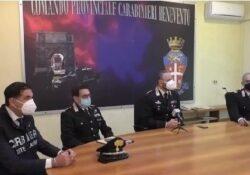 """Telese Terme / Benevento. Carabinieri, bilancio positivo nel Sannio: """"Nel 2020 calano i reati e aumenta la sicurezza""""."""