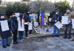 """ALIFE. Giornata della Memoria Shoah, nomina """"Guide Escursioniste per la Pace"""" e inaugurazione scultura lignea dedicata al Cav. Giovanni Di Franco, ultimo reduce sopravvissuto alla guerra."""