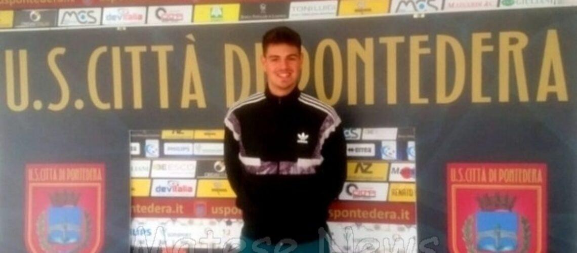ALIFE / PONTEDERA. Francesco Avecone passa al professionismo: sarà uno dei portieri del Pontedera Calcio in serie C. Che soddisfazione per tutto lo sport matesino!!!