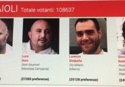 Caserta / Provincia. Luca Doro tra i grandi della gastronomia italiana: il pizzaiolo casertano 2° in categoria pizzaioli nella 13° edizione del Premio Personaggio dell' Anno di   Italia a Tavola.