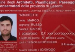 """Caserta / Provincia. Arriva il tesserino digitale per gli iscritti all'ordine Architetti, Cecoro: """"tra i primi in Italia a dotare i nostri associati di un tesserino di riconoscimento…""""."""