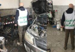 Caserta / Provincia. Officina di autoriparazione abusiva e sconosciuta al Fisco: la Finanza denuncia il titolare e sequestra locali e attrezzature.