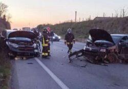 """Paupisi. Ennesimo grave sinistro lungo la strada statale """"Telesina"""": due le auto coinvolte."""