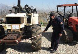 Frasso Telesino / Telese Terme. Taglio boschivo e movimentazione abusiva: Carabinieri Forestale sequestrano mezzi.