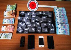Caserta / Provincia. Droga ed oltre 20mila euro in contanti: arresti per spaccio.