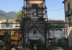 PIEDIMONTE MATESE. Ristrutturazione fontana in Piazzetta Annunziata: domani i droni in città per una supervisione dall'alto.