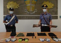 Caserta / Provincia. Tentano di rubare un negozio di telefonia: 4 rapinatori arrestati dai carabinieri.