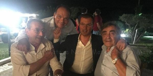La festa con Giovanni Zannini: amici e sostenitori presenti all'invito del Consorzio Bonifica