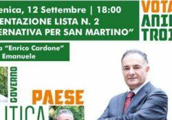 """S. Martino V.C. """"Alternativa per San Martino"""" apre la campagna elettorale: Aniello Troiano pronto con la sua squadra."""
