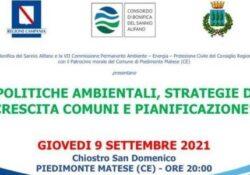 PIEDIMONTE MATESE. Stasera il convegno in città con Zannini, Caputo e Del Sesto promosso dal Consorzio di Bonifica.