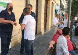 """PIEDIMONTE MATESE / Amministrative 2021. L'inaugurazione in Piazza Roma del comitato elettorale della lista n. 1 """"RISE – Rinascita matesina"""" del candidato sindaco Vittorio Civitillo."""