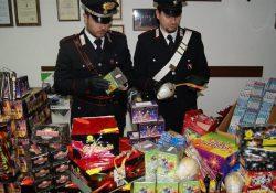 Venafro / Isernia / Provincia. Carabinieri in  azione per un Capodanno all'insegna della prevenzione. Sotto sequestro oltre un quintale e mezzo di botti illegali.
