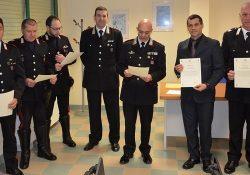 Venafro / Sesto Campano. Carabinieri, premiati i militari per le attività svolte sul territorio.
