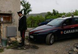 """Venafro. Furbetto del """"contatore"""": colto in flagrante dai carabinieri a realizzare un allaccio abusivo per fornire energia elettrica alla propria abitazione."""