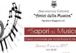"""TRIFLISCO / PIGNATARO MAGGIORE. Cena sociale il prossimo 4 marzo per gli """"Amici della musica"""": momento di convivialità ed occasione per analizzare questioni interne."""
