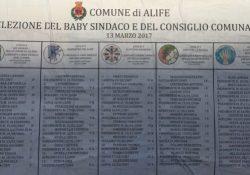 ALIFE. Elezioni del Baby Sindaco e del consiglio comunale, si vota il prossimo 13 marzo: una novita' per il comune alifano. TUTTI I CANDIDATI.