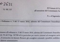 CALVI RISORTA. Acqua pubblica, Bonacci chiede al Commissario prefettizio di informare la comunità sulla sua salubrità.
