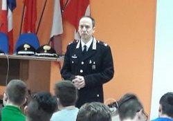 Agnone. Formazione della cultura alla legalità, i Carabinieri incontrano gli studenti di quattro istituti scolastici.